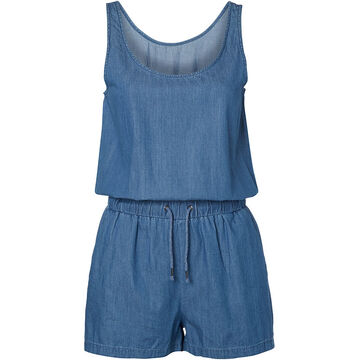 Vero Moda Just Easy Chambray Playsuit - Assorted