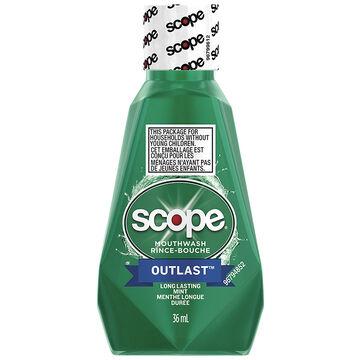 Scope Outlast Mouthwash - Mint - 36ml