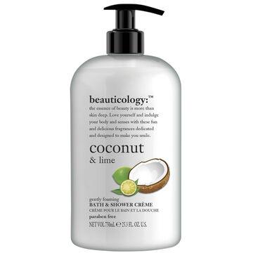 Beauticology Coconut & Lime Bath & Shower Creme - 750ml