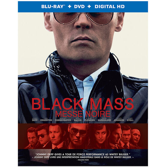 Black Mass - Blu-ray + DVD