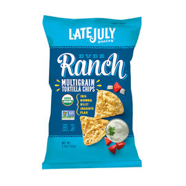 Late July Organic Multigrain Tortilla Chips - Dude Ranch - 156g