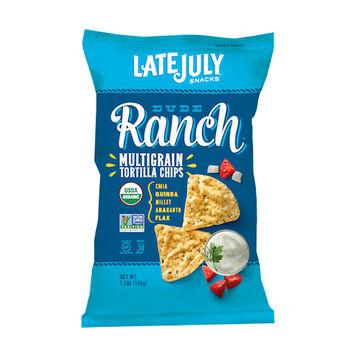 Late July Organic Multigrain Tortilla Chips - Dude Ranch - 156g