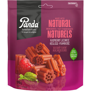 Panda Licorice - Raspberry - 170g