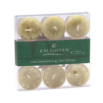 Enlighten Tealights - Thai Lemon Grass - 9 pack