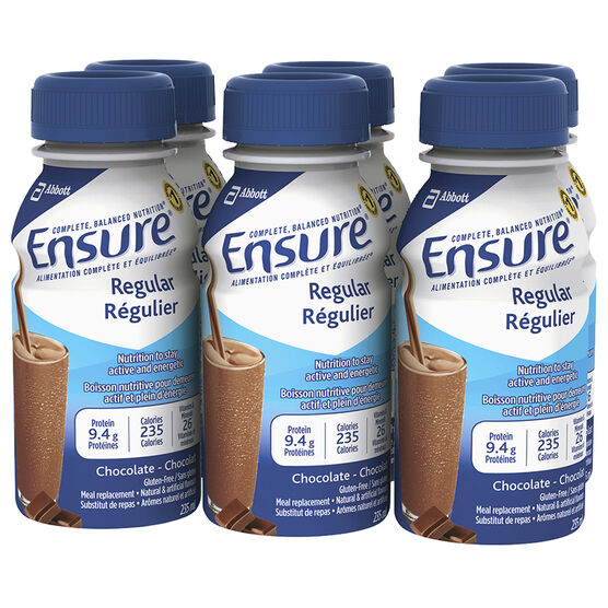 Ensure Regular - Chocolate - 6 x 235ml