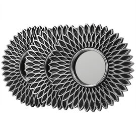 London Drugs Round Wall Mirror - Sun - 3 piece