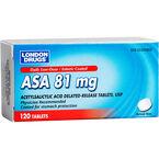 London Drugs ASA Low Dose - 81mg - 120's
