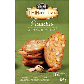 Nonni's Thinaddictives Pistachio Almond Thins - 126g