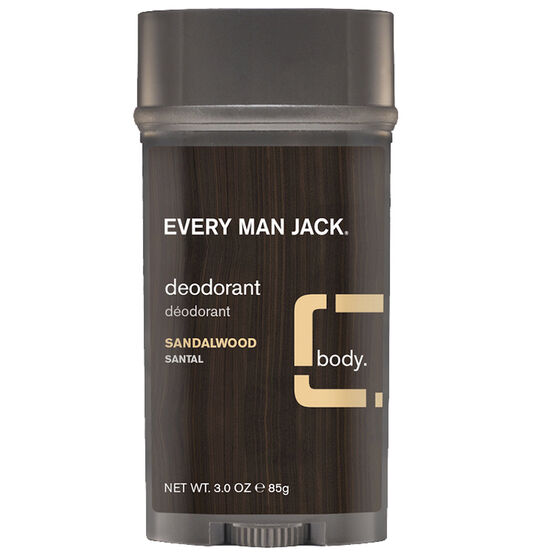 Every Man Jack Deodorant - Sandalwood - 88g