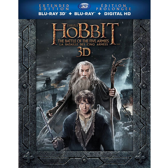 The Hobbit: The Battle of Five Armies (Extended Edition) - 3D Blu-ray