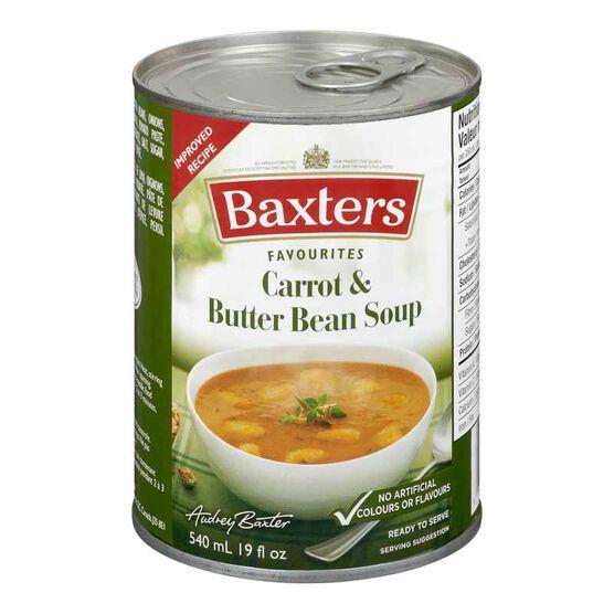 Baxter's Soup - Carrot & Butter Bean - 540ml