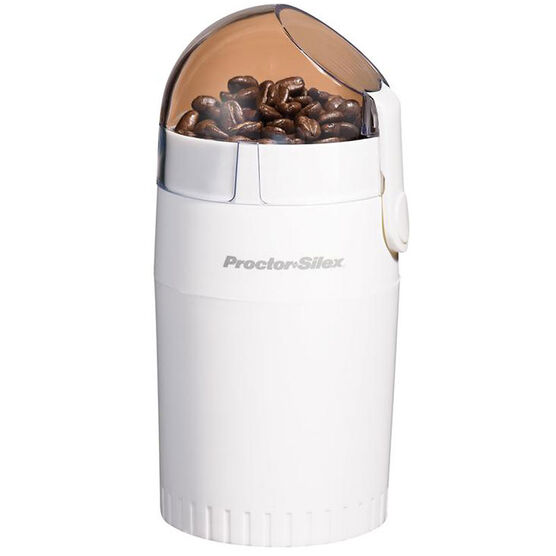 Proctor Silex Coffee Grinder - 12 CUP - White - E160BY
