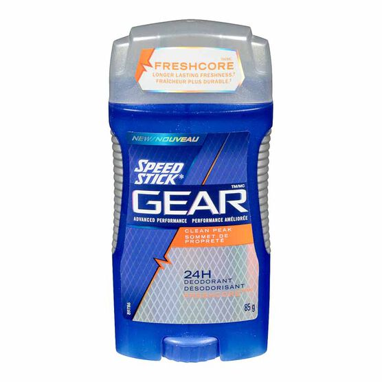 Speed Stick Gear Deodorant - Clean Peak - 85g
