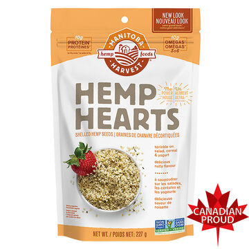 Manitoba Harvest Shelled Hemp Seed - 227g