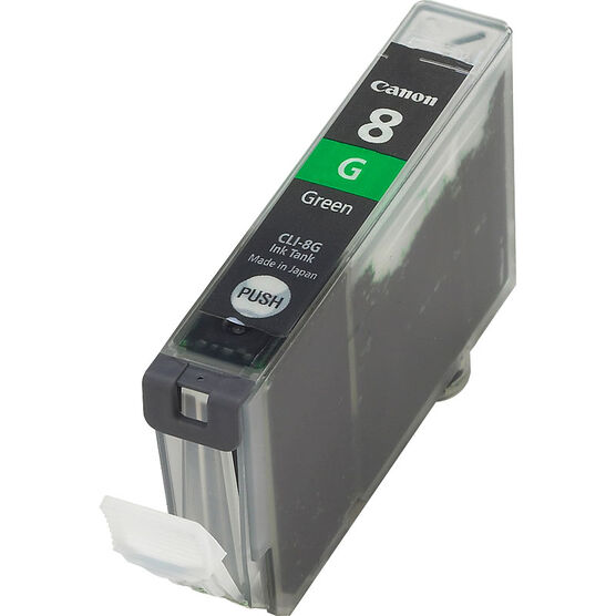 Canon CLI-8G Ink Cartridge - Green - CLI-8G