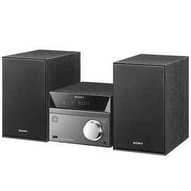 Sony Bluetooth NFC Three Box Mini System -  Black/Silver - CMTSBT40D