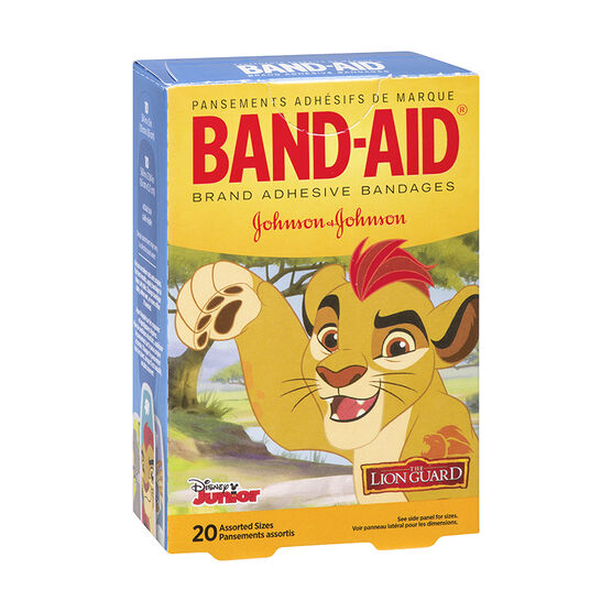 Johnson & Johnson Band-Aid - Lion Guard - 20's