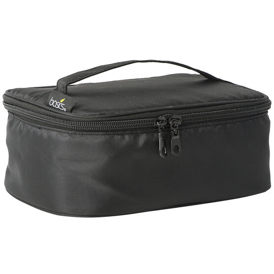 Basics Black Train Case - A000180LDC