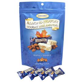 Golden Bonbon Soft Almond Nougat - Maple - 70g