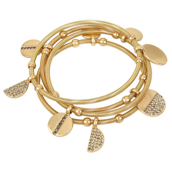 Kenneth Cole Disc Bracelet - Gold