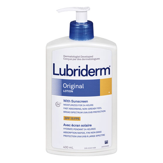 Lubriderm with sunscreen