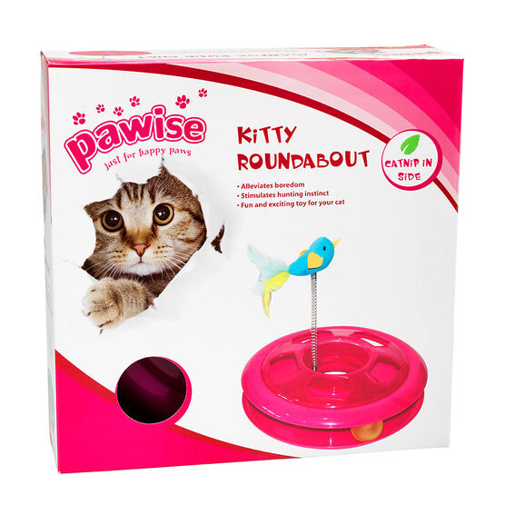 Pawise Kitty Roundabout - Assorted