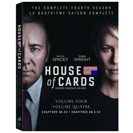 House of Cards - Season 4 - DVD