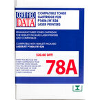 Certified Data 78A Remanufactured Toner Cartridge