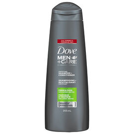 Dove Men+Care 2in1 Shampoo + Conditioner - Fresh Clean - 355ml