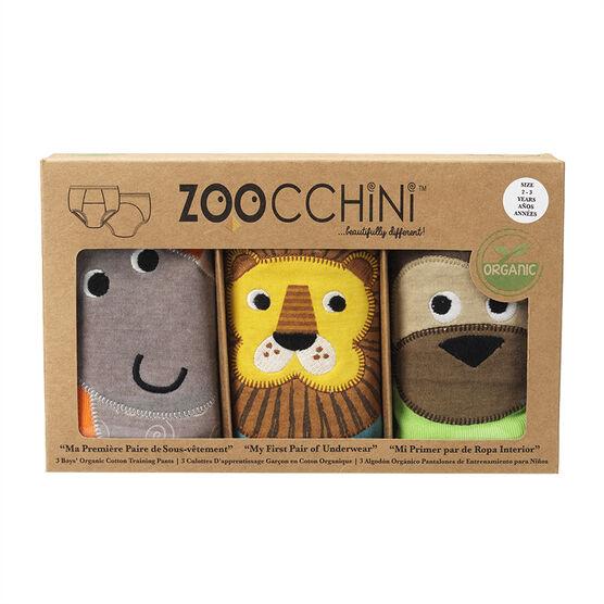 Zoocchini Organic Training Pants - Boys 2T/3T - Safari Friends - ZOO105