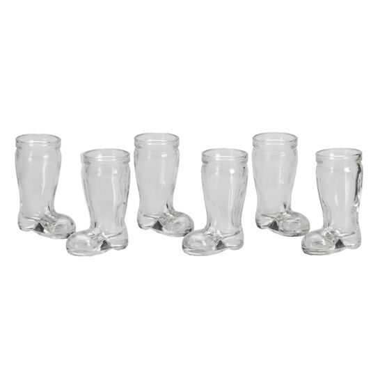 London Drugs Shot Glass Boot - Set of 6