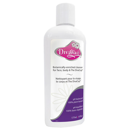 DivaWash Natural Body Gel - 177ml