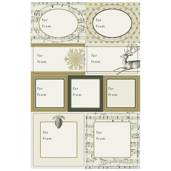 Hallmark Classic Gold Seals - Elegant Golds - 0299XS 1039