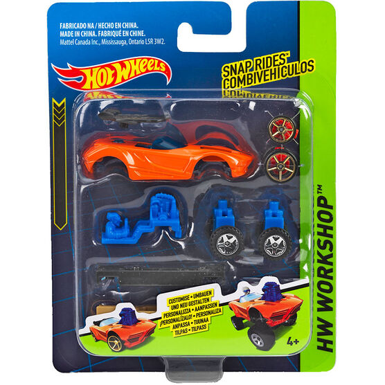 Hot Wheels Snap Rides Vehicles - Assorted