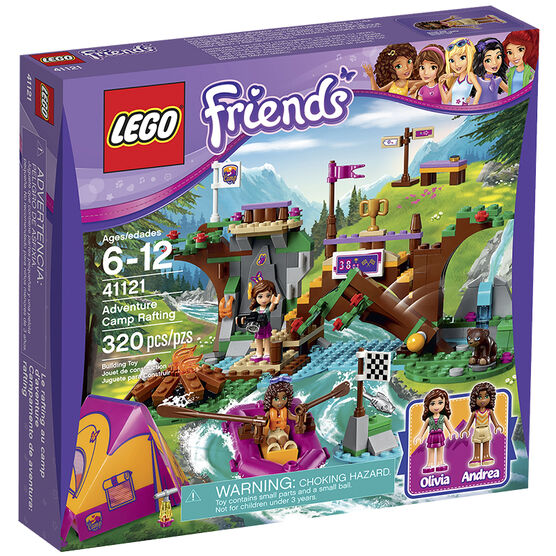 Lego Friends - Adventure Camp Rafting