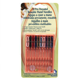 Helping Hand Pre-Threaded Reuseable Hand Needles - 10 pack