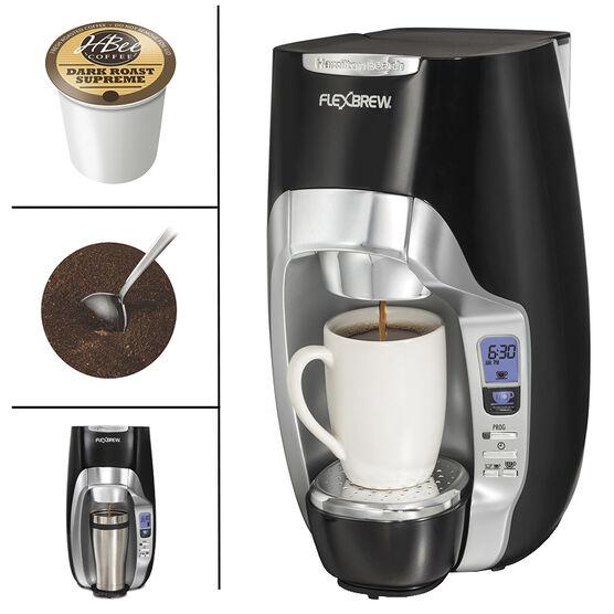 Hamilton Beach Flexbrew Coffee Maker - Black - 49996C