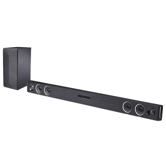LG 300W Sound Bar with Wireless Subwoofer and Bluetooth Connectivity - SH3B