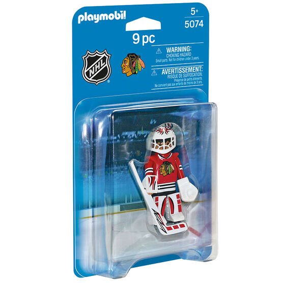 Playmobil NHL Black Hawks Goalie - 50748