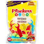 Plackers Kids Dental Flossers with Fluoride - Mixed Berry - 48's