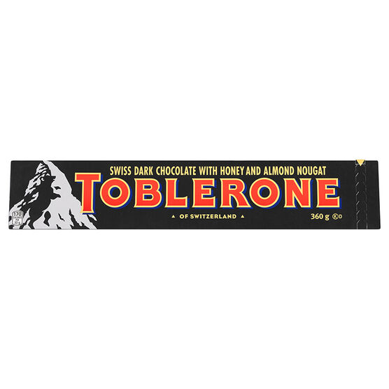 Toblerone - Dark Chocolate - 360g