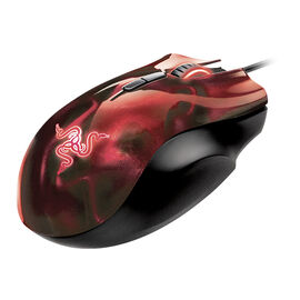Razer Naga Hex Red Gaming Mouse - 8096387