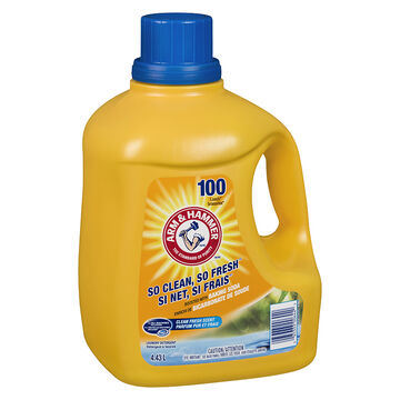 Arm & Hammer 2X Laundry Detergent - Clean Fresh - 4.43L