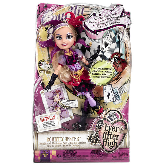 Ever After High Doll - Courtly Jester