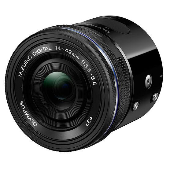 Olympus Air A01 Black Body with 14-42mm EZ Black Lens - V208011BU000