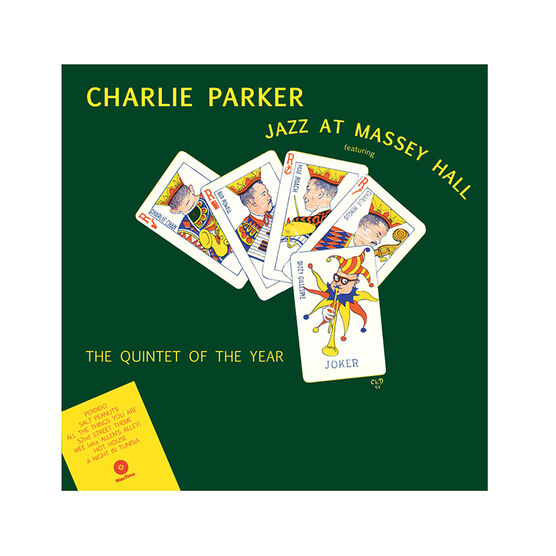 Parker, Charlie - Jazz at Massey Hall - Vinyl