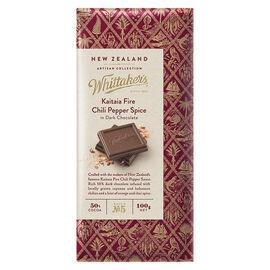 Whittaker's Dark Chocolate - Kaitaia Fire Chili Pepper Spice - 100g