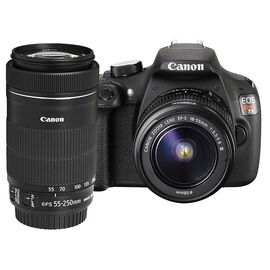 Canon T5 with 18-55mm DC III and EF-S 55-250mm F4-5.6 IS STM Lens