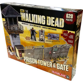 The Walking Dead McFarlane Building Sets - Prison Tower & Gate