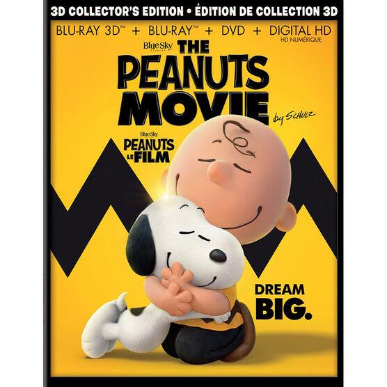 The Peanuts Movie - 3D Blu-ray
